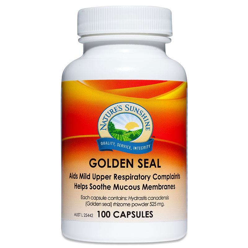 Natures Sunshine Golden Seal 525mg 100 Capsules at Chemist Warehouse in Campbellfield, VIC | Tuggl