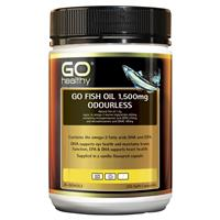 Buy GO Healthy Fish Oil 1500mg Odourless 210 Capsules ...