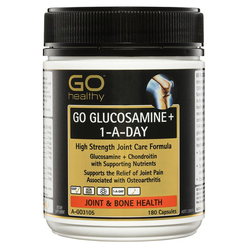 GO Healthy Glucosamine 1 A Day 180 Capsules at Chemist Warehouse in Campbellfield, VIC | Tuggl
