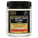 GO Healthy Grape Seed 60000mg 300 Vege Capsules