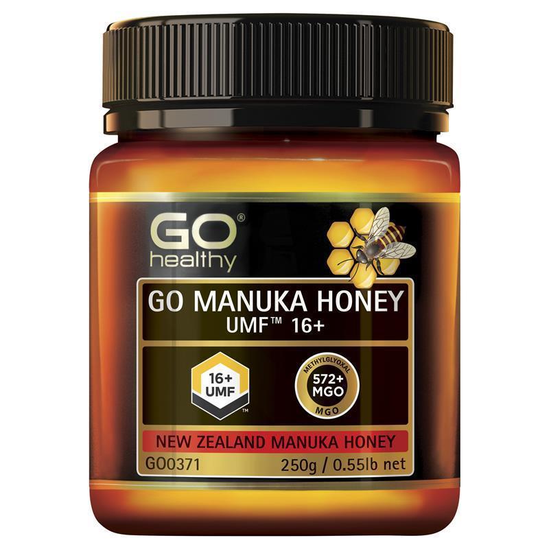 Buy GO Healthy Manuka Honey UMF 16+ (MGO 570+) 250gm (Not