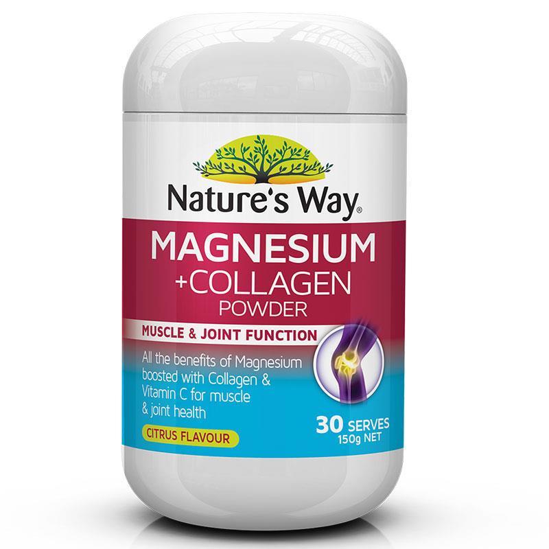 네이쳐스웨이 마그네슘 + 콜라겐 파우..