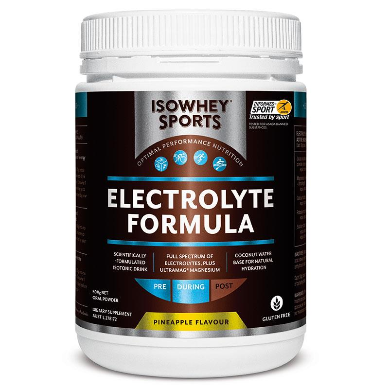 IsoWhey Sports Electrolyte Formula Pineapple Powder 500g Online Only at Chemist Warehouse in Campbellfield, VIC | Tuggl