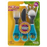 Nuby Stainless Steel Cutlery Set