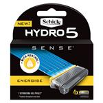 Schick Hydro 5 Sense Energize Blade 4 Pack
