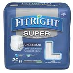FitRight Super Underwear Large 20 Pack Online Only