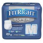 FitRight Super Underwear Medium 20 Pack Online Only