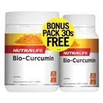 NutraLife Bio-Curcumin 90 + 30 Capsules Bonus Pack Exclusive Size