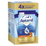Aptamil Gold+ 3 Toddler Milk Drink Powder Sachets From 1 Year 4 Pack 38.0g