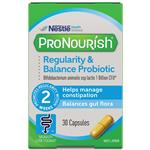 ProNourish Regularity & Balance Probiotic 30 Capsules