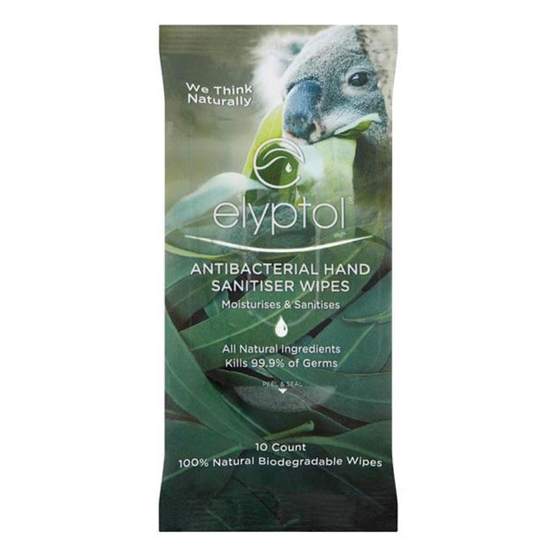 Buy Elyptol Antibacterial Hand Sanitising Wipes 10 Pack Online At