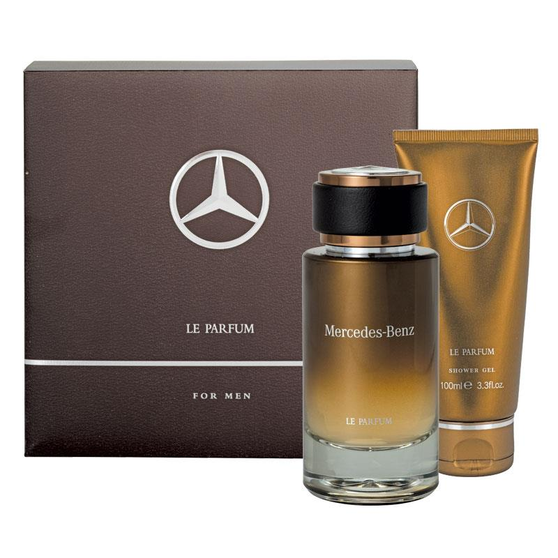 buy mercedes benz le parfum for men 120ml 2 piece set. Black Bedroom Furniture Sets. Home Design Ideas