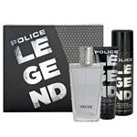 Police Legend For Men Eau de Parfum 100ml 3 Piece Set