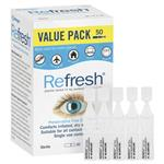 Refresh Eye Drops 0.4ml x50 Exclusive Pack