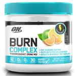 Optimum Nutrition Burn Complex Caffeinated Lemon Lime 30 Serve 150g Online Only