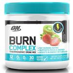 Optimum Nutrition Burn Complex Caffeinated Strawberry Kiwi 30 Serve 150g Online Only