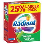 Radiant Laundry Powder Brilliant Whites Sharper Colours 1.25kg