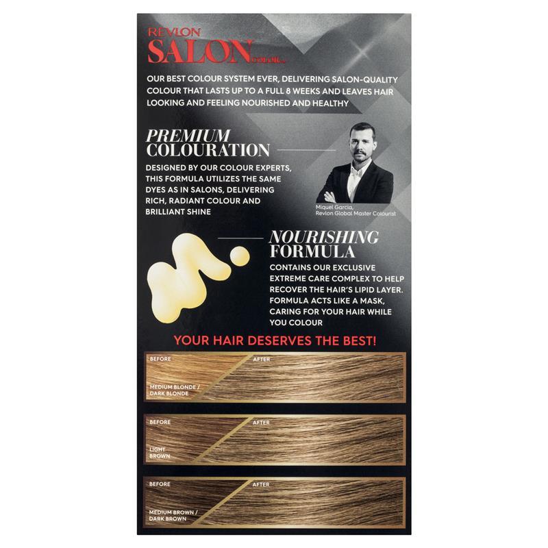 Buy Revlon Salon Hair Color 6a Light Ash Brown Online At Chemist