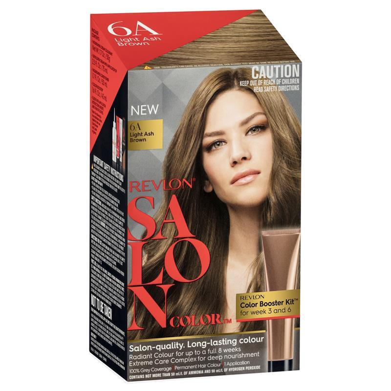 Buy Revlon Salon Hair Color 6a Light Ash Brown Online At Chemist