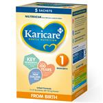 Karicare+ 1 Infant Formula From Birth 0-6 Months Sachets 5x21.9g