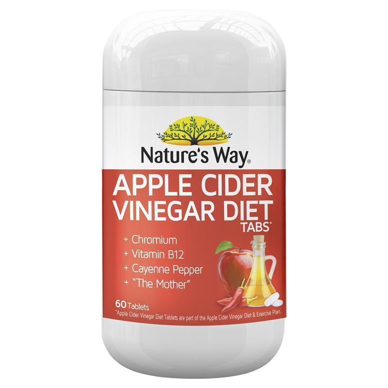 Buy Nature's Way Apple Cider Vinegar Diet 60 Tablets