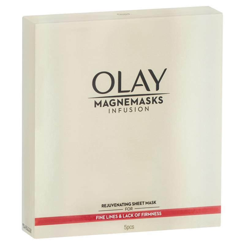 Buy Olay Magnemasks Infusion Rejuvenating Sheet Masks 5