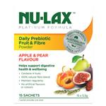 Nulax Platinum Daily Prebiotic Fruit Fibre Powder 15x5.5g Sachets