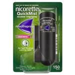 Nicorette Quit Smoking QuickMist Mouth Spray Cool Berry 150 Sprays (13.2mL x 1)