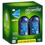 Nicorette Quit Smoking Cooldrops Fresh Fruit Lozenges 2mg 160 Pieces