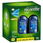 Nicorette Quit Smoking Cooldrops Fresh Fruit Lozenges 4mg 160 Pieces