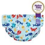 Bambino Mio Reusable Swim Nappy Deep Sea Blue Large (1-2 Years)
