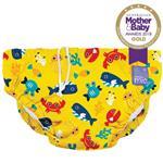 Bambino Mio Reusable Swim Nappy Deep Sea Yellow (1-2 Years)