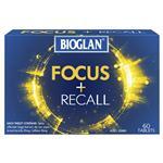 Bioglan Focus + Recall 60 Tablets
