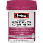 Swisse High Strength CoQ10 300mg 90 Capsules