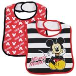 Mickey Mouse Cotton Bib 2 Pack