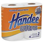 Handee Ultra Towel White 2 Pack