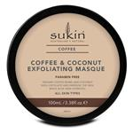 Sukin Coffee And Coconut Exfoliating Masque 100ml