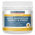 Ethical Nutrients Mega Magnesium Energy and Stress 230g