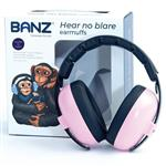 Banz Ear Muffs Mini 3+ Months to 2 Years Petal Pink Online Only