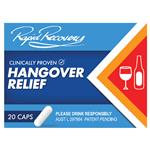 Rapid Recovery Hangover Relief 5 Dose 20 Capsules