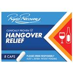 Rapid Recovery Hangover Relief 2 Dose 8 Capsules