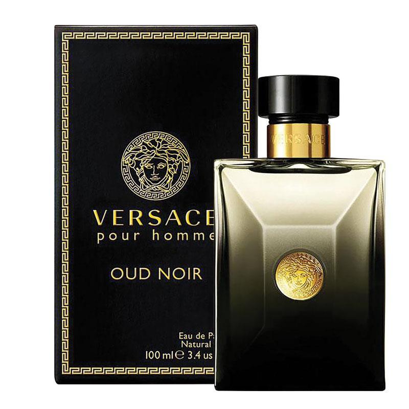 Buy Versace Pour Homme Oud Noir Eau De Parfum 100ml Spray Online At