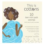 Cottons Teen Pads 10 Pack Online Only
