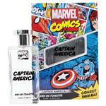 Marvel Comics Captain America Eau De Toilette 100ml Spray