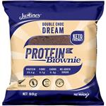 Justine's Double Choc Protein Brownie 80G Online Only