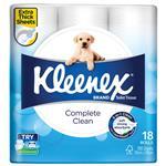 Kleenex Complete Clean 18 Pack