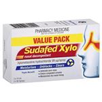 Sudafed Xylo Nasal Decongestant Twin Pack 160 Sprays