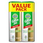Glen 20 Disinfectant Original Scent Spray Bonus Pack 300g x 2