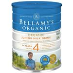 Bellamy's Organic Junior Milk Drink Step 4 900g