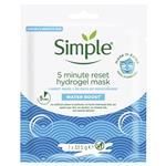 Simple Water Boost Hydration Reset Facial Sheet Mask 33g